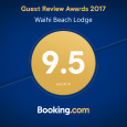 2017 Award from Booking .com